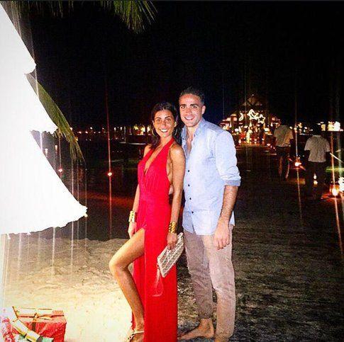Federica Nargi insieme al fidanzato Alessandro Matri – Pagina Facebook
