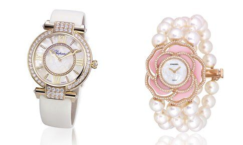 Orologio Chopard Imperiale e Chanel Montres