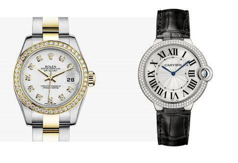 Orologio Rolex Oyster e Ballon Bleu de Cartier