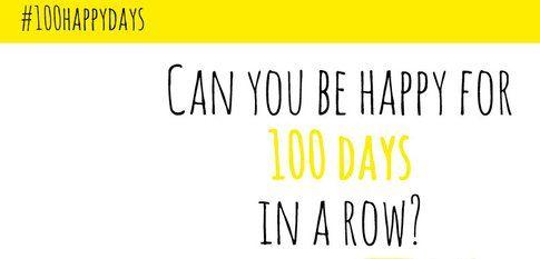 La campagna #100dayshappy