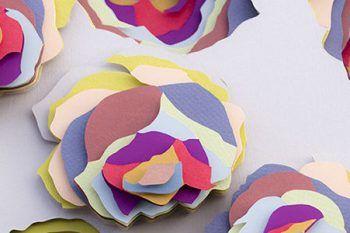 Maud Vantours: meravigliose installazioni di carta