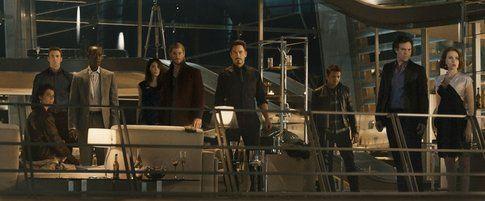 Il gruppo degli Avengers - foto Movieplayer.it