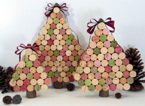 Lavoretto-Alberi-Natale-Tappi-Sughero