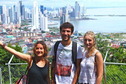 Con i miei amici sul Cerro Ancòn