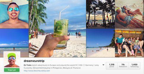 Dream Euro Trip on Instagram