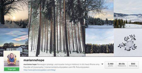 Marianne Hope on Instagram
