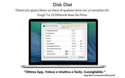 Mac Disk Diet (disponibile su iTunes)