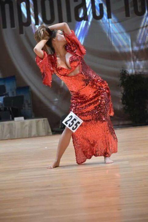 Nella foto: Alessia Buttiglieri, campionessa italiana 2014