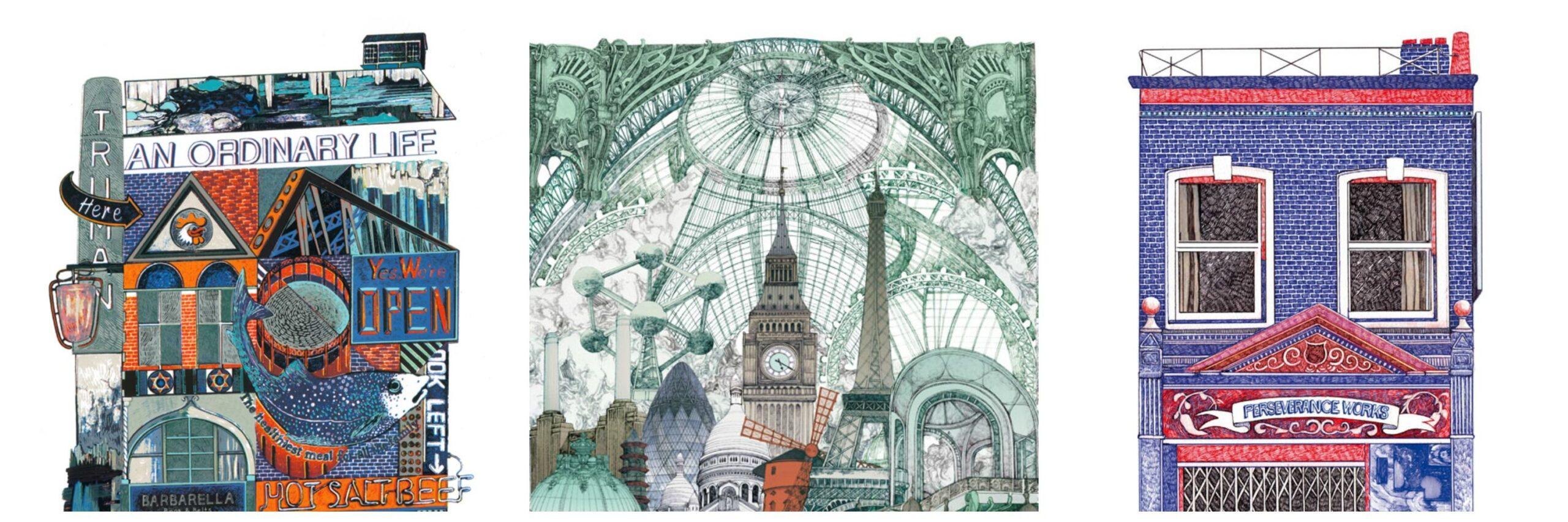 L'East London nelle illustrazioni di Lucille Clerc