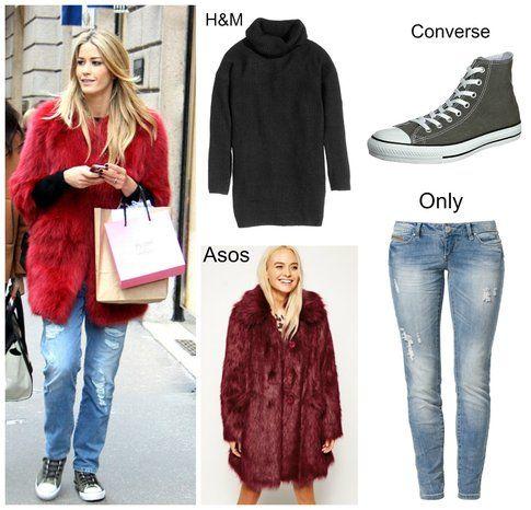 Elena Santarelli – shopping per le vie di Milano