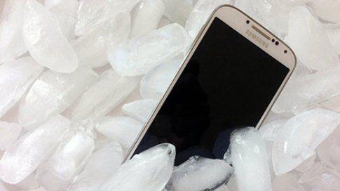 Sapevate che Samsung garantisce i -22° come temperatura minima? (Fastweb)