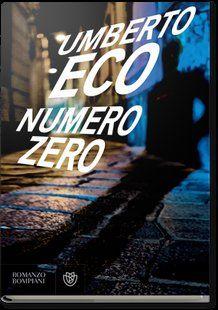 Numero Zero - immagine da sito Bompiani