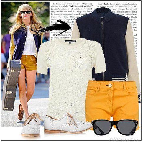 Taylor Swift e l'outfit ispirato in vendita da Asos.com
