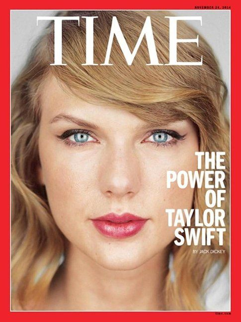 Taylor Swift via Time.com