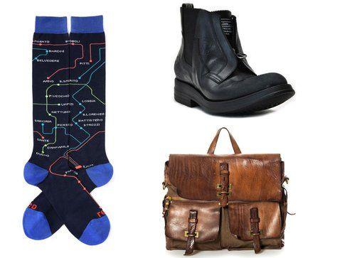 Un paio di calze, un paio di scarpe e un borsone che dovrai portare a casa con te dopo Pitti!