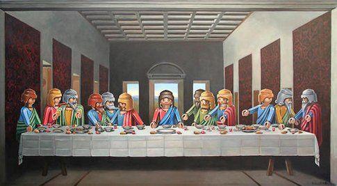 """L'ultima cena "" di Leonardo"