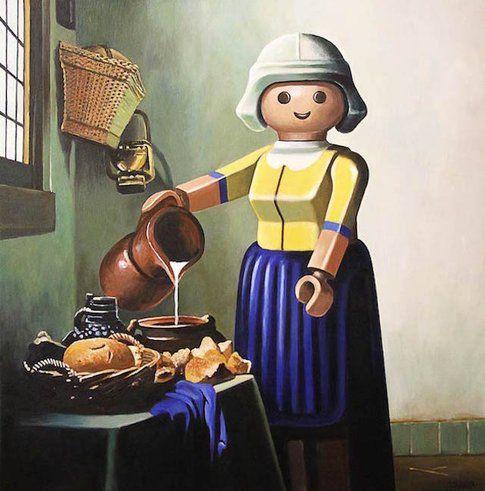 """Lattaia"" di Vermeer"