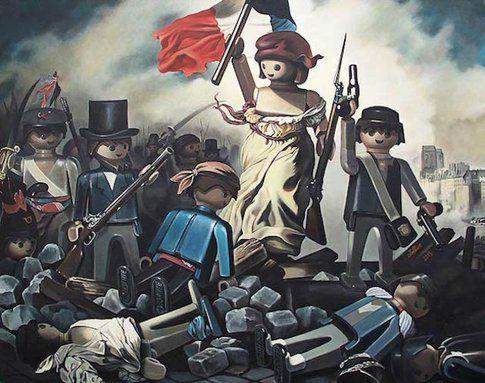 """""""La Libertà che guida il popolo"""" di Delacroix"""