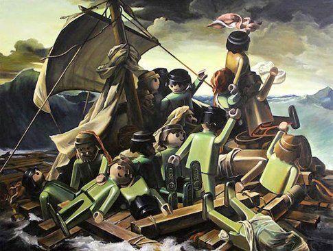 """""""La zattera della Medusa"""" di Géricault"""