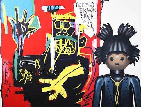 Ritratto di Basquiat