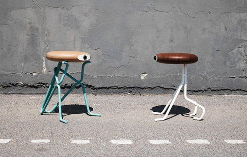 Phillip Grass Companion Stool