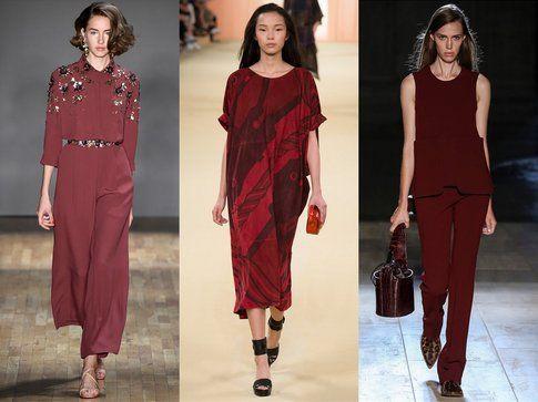 Total Look Marsala per il 2015 proposti da: Jenny Packhman, Hèrmes e Victoria Beckham fonte: Indigitalimages.com
