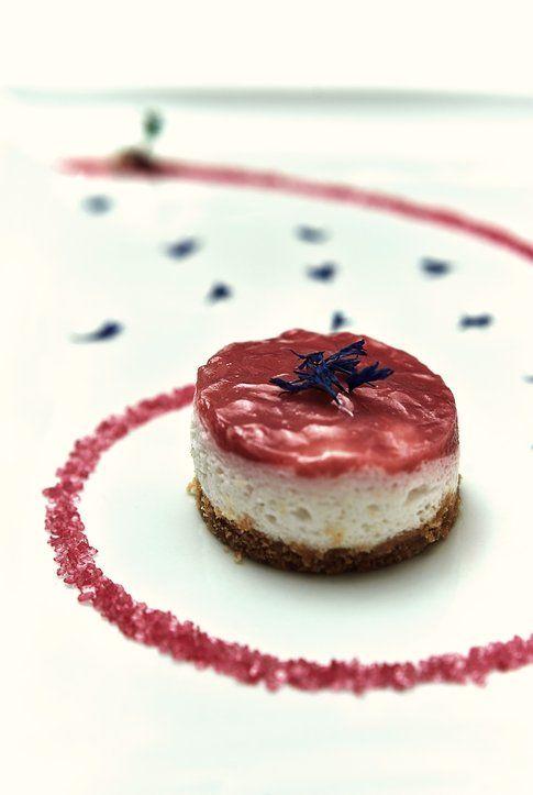Vegan Cheesecake color Marsala