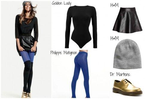 Federica Nargi per la collezione invernale calze e collant Golden Point