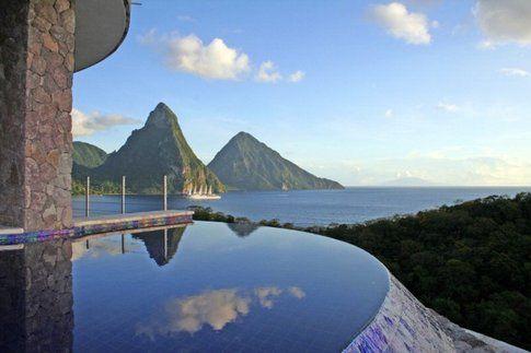 Jade Mountain - St. Lucia, Caraibi