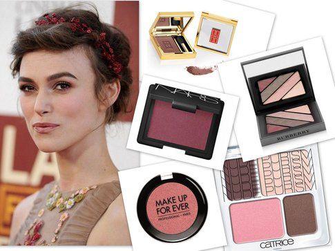 Ombretto Marsala come Keira Knightley: prova le proposte di Nars, MakeupForever, Catrice, Givenchy e Burberry
