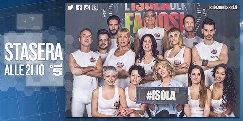Il cast dell'Isola dei famosi 10 - foto Facebook ufficiale