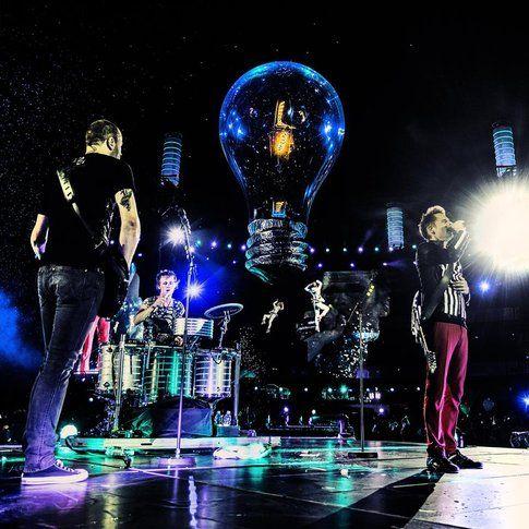 Muse - foto da pagina facebook ufficiale