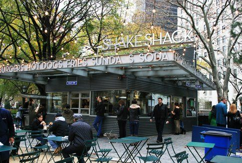 Shake Shack a Madison Square Park New York