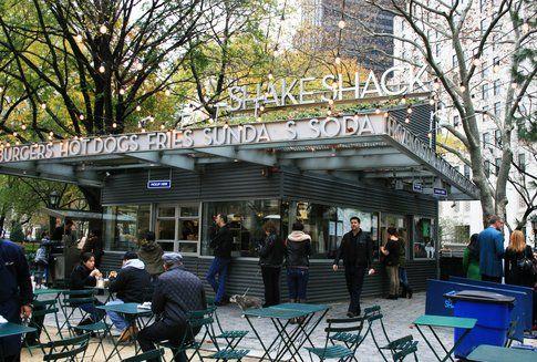 Shake Shack a Madison Square Park New York