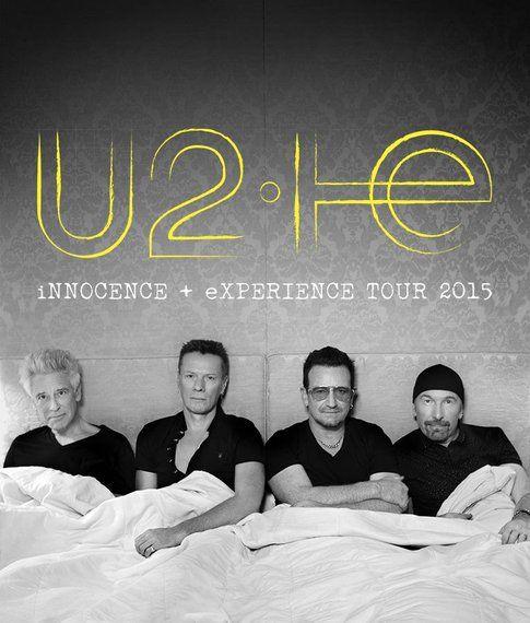 U2 - foto da pagina facebook ufficiale