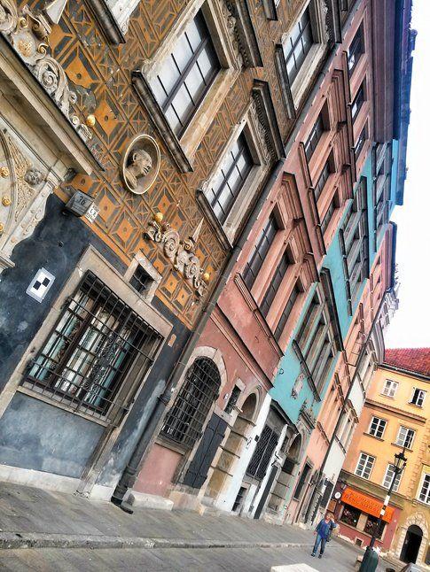Per le strade di Varsavia