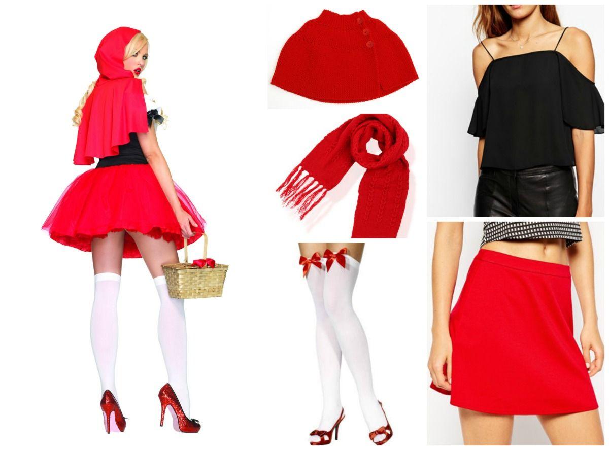 Costumi di Carnevale DIY: Catwoman, Piratessa e Capuccetto Rosso