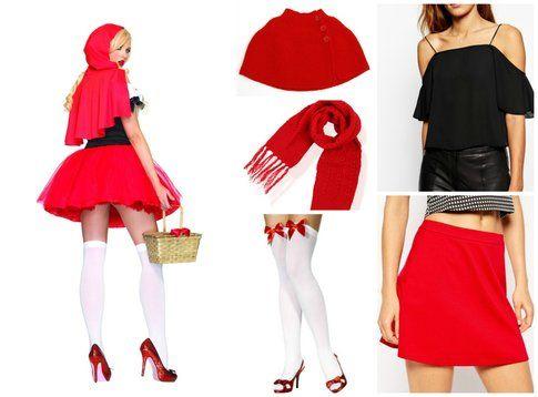Costume da Cappuccetto Rosso  per Carnevale