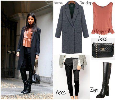 """Chiara Biasi – post """"Orange"""" della sezione outfit del blog personale"""