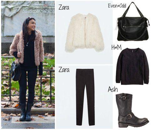 """Chiara Biasi – post """"Pink Coat"""" della sezione outfit del blog personale"""