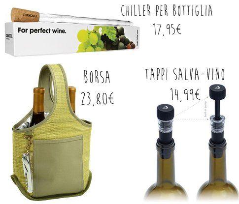 Regali per l'amante del vino... (gifts.com)