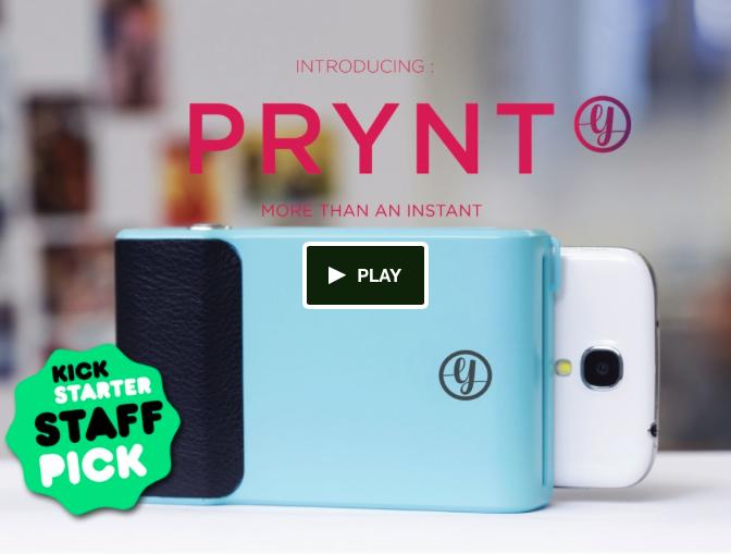 Prynt: la cover per smartphone che stampa fotografie