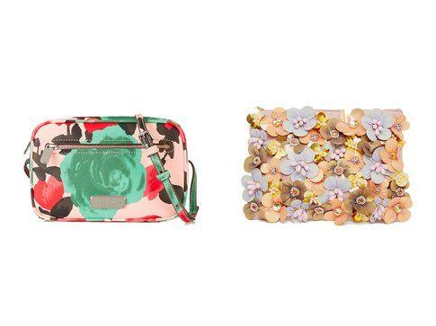 Le borse con stampe floreali proposte da Marc by Marc Jacobs e  Asos