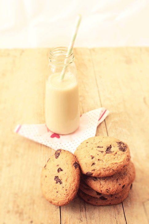 La ricetta dei Cookies al cioccolato senza glutine