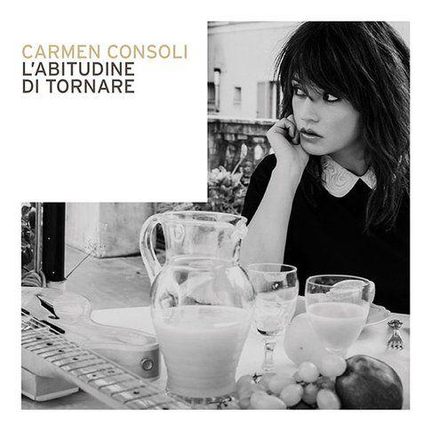 Copertina disco Carmen Consoli - immagine da pagina facebook ufficiale