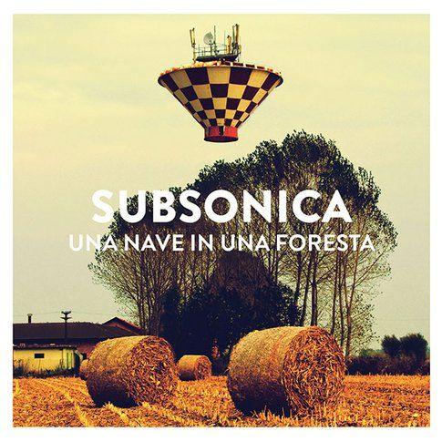 Copertina disco Subsonica - immagine da pagina facebook ufficiale