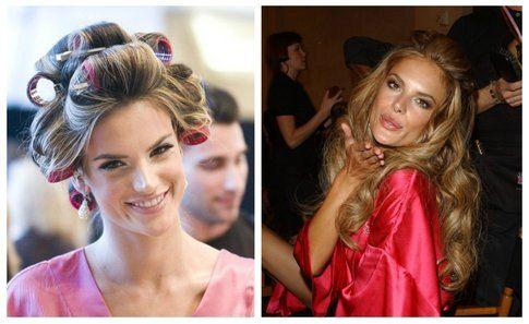 La modella Alessandra Ambrosio -  Victoria's Secret Fashion Show