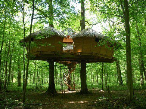 La Cabane en l'air! Le case sull'albero