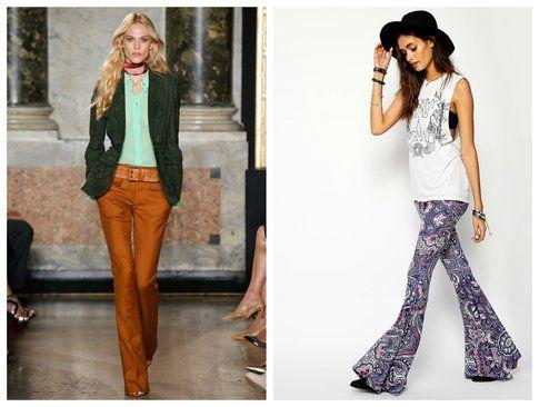 Pantaloni a zampa stile anni 70 - Emilio Pucci, Asos