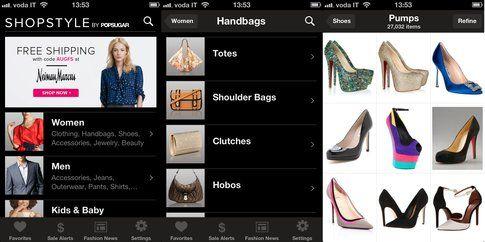 L'app Shopstyle